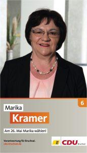 Marika Kramer, Listenplatz 6