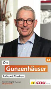 Ole Gunzenhäuser, Listenplatz 14