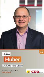 Heiko Huber, Listenplatz 19