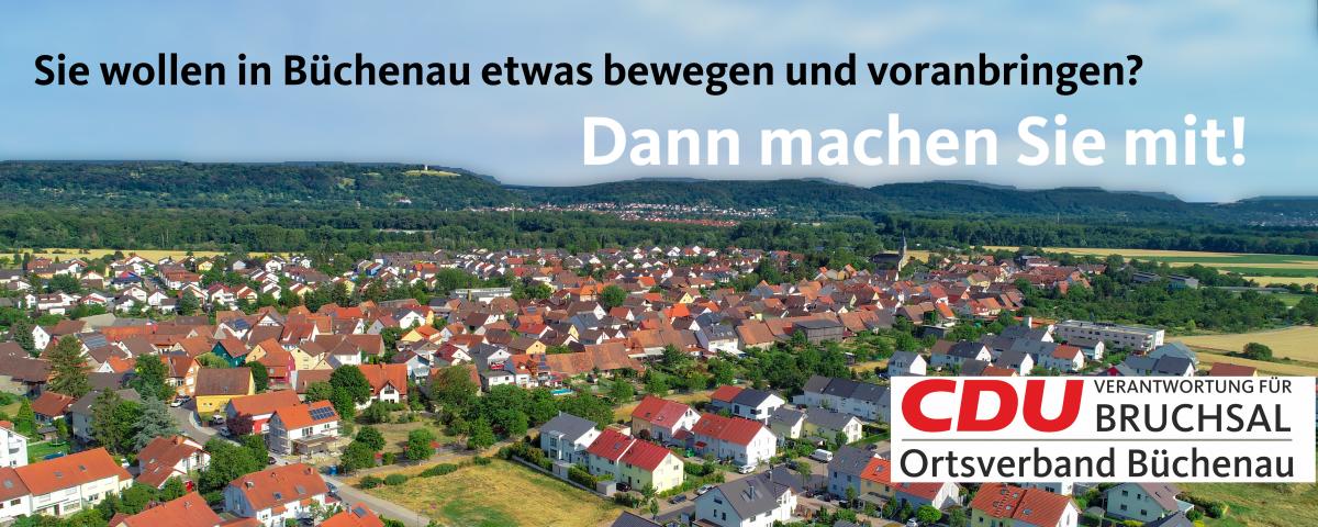 Die CDU Büchenau sucht Sie!
